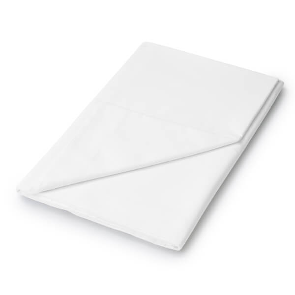 Helena Springfield Plain Dye Flat Sheet - Single - White