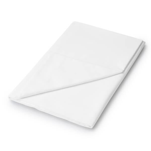 Helena Springfield Plain Dye Flat Sheet - Double - White