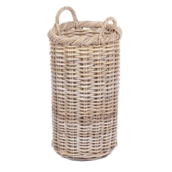 Round Tapered Wicker Basket