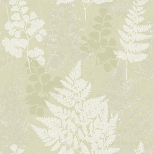 Holden Decor Bramble Leaf Smooth Green Wallpaper