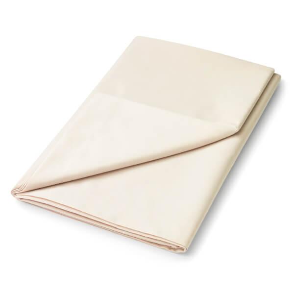 Helena Springfield Plain Dye Flat Sheet - Single - Linen