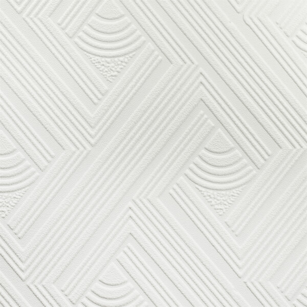 Superfresco Geometric Paintable Wallpaper