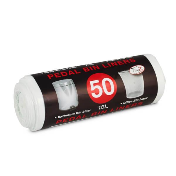Pedal Bin Liners - 15L - 50 Pack