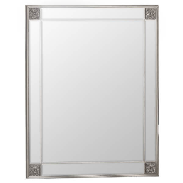 Seville Large Silver Accent Mirror