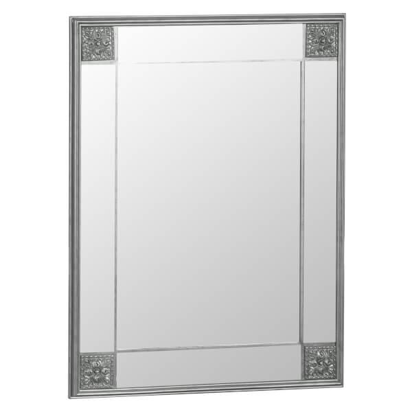 Seville Small Silver Accent Mirror