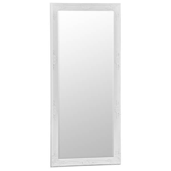 Valencia Large White Accent Mirror