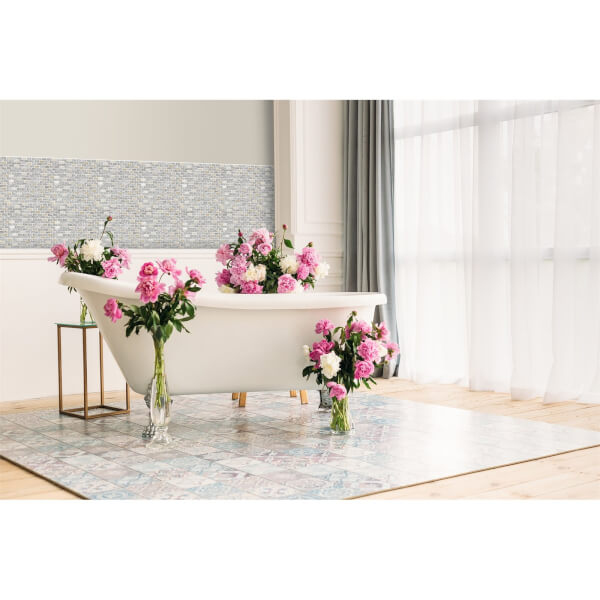 HoM Rose Gold Elysee Mosaic Tile - 300 x 300mm