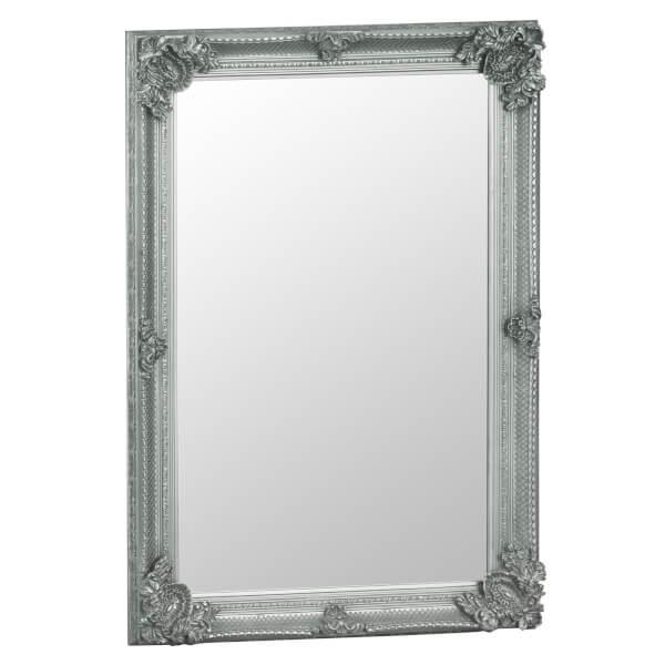 Madrid Small Silver Accent Mirror