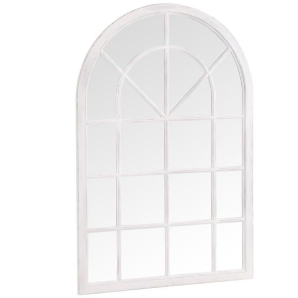 Toledo White Accent Mirror