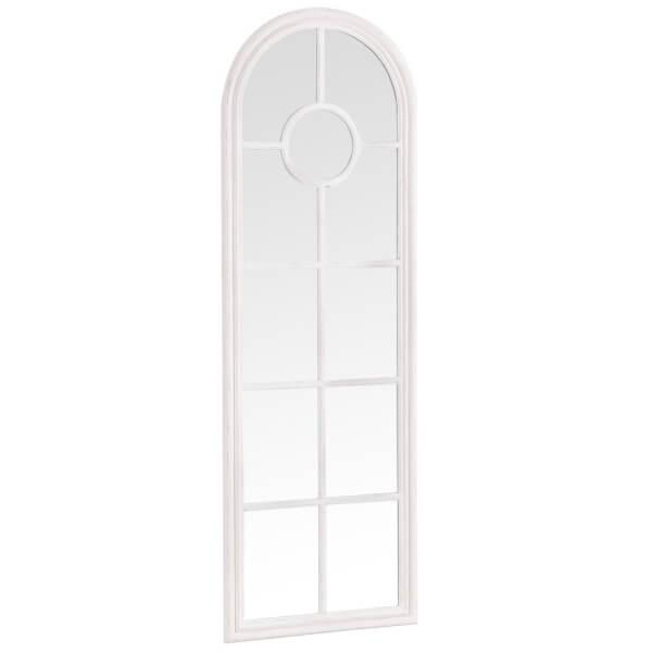 Alhambra White Accent Mirror