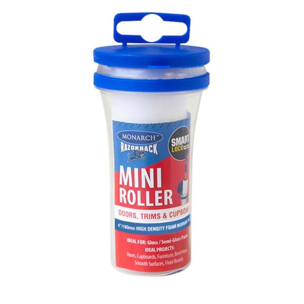Monarch Razorback Mini Roller Refill Microfibre - 100mm - 1 Pack