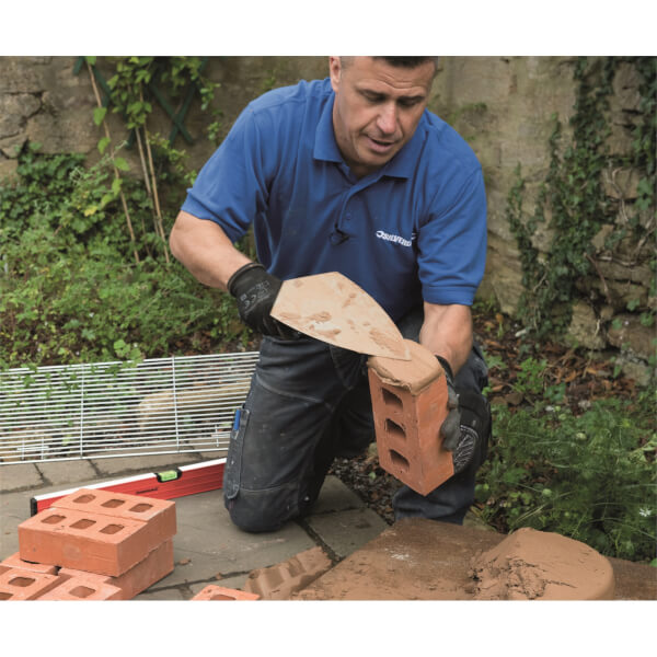 Silverline Brick Trowel Soft-Grip - 280x150mm
