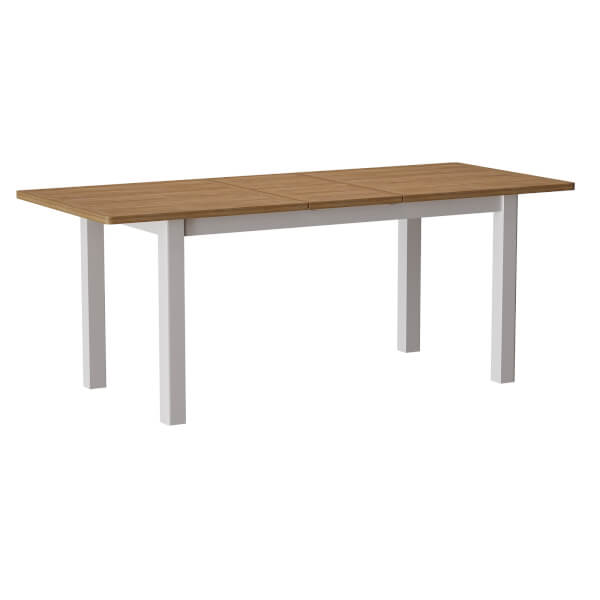 Padstow 1.6m Extending Dining Table - Truffle