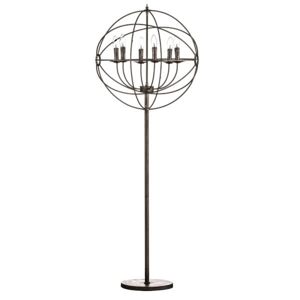 Orbital 6 Arm Floor Lamp