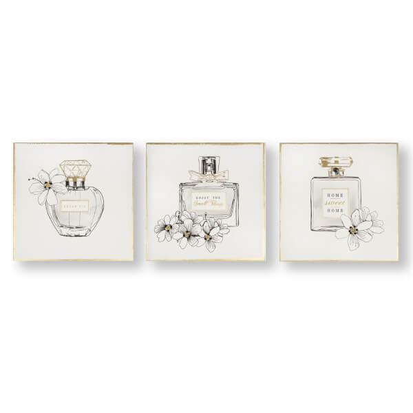 Pretty Perfume Bottles Canvas