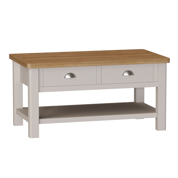 Padstow Large Coffee Table - Truffle
