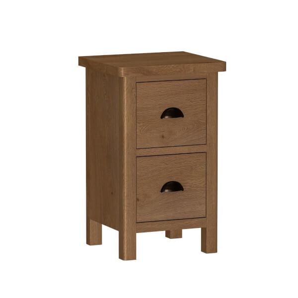 Newlyn Bedside Table - Oak