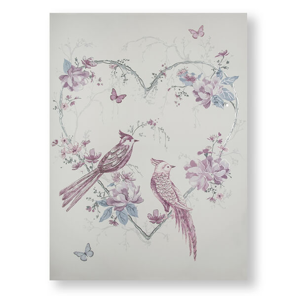 Elegant Songbirds Canvas