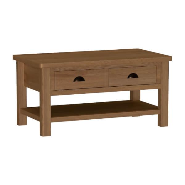 Newlyn Large Coffee Table - Oak