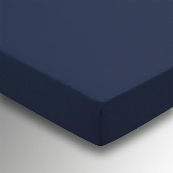 Helena Springfield Plain Dye Fitted Sheet - Double - Navy