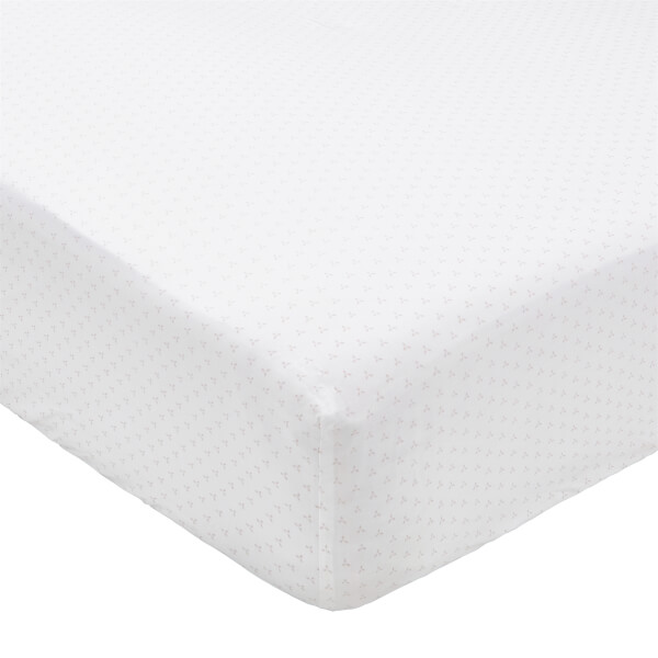 Murmur Tua Fitted Sheet - Single - Blush