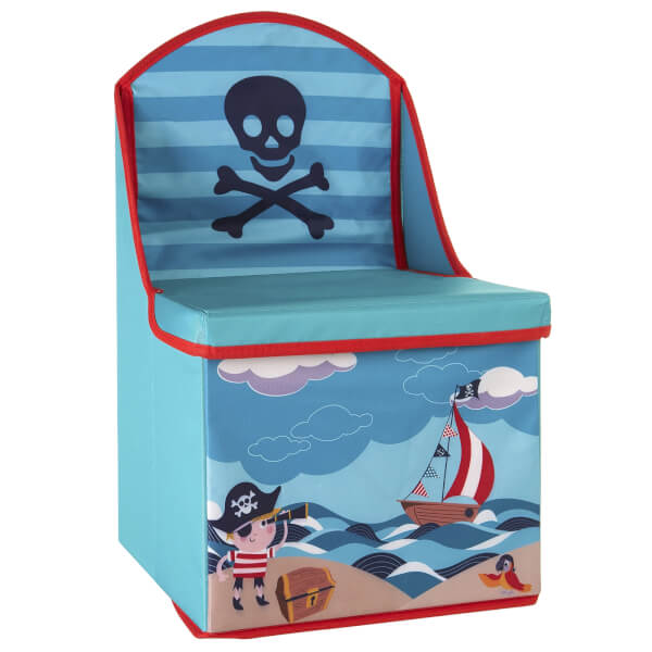 Kids Storage Box Seat Pirate Design