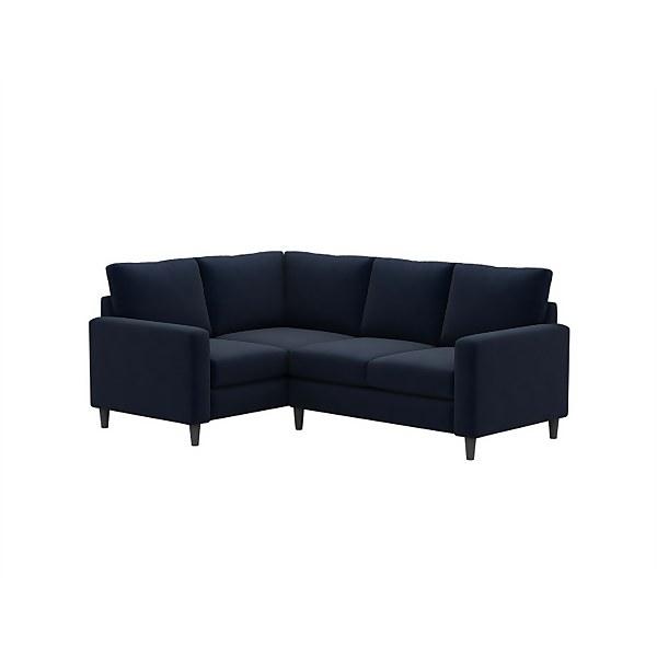 Harrison Lefthand Corner Sofa - Midnight
