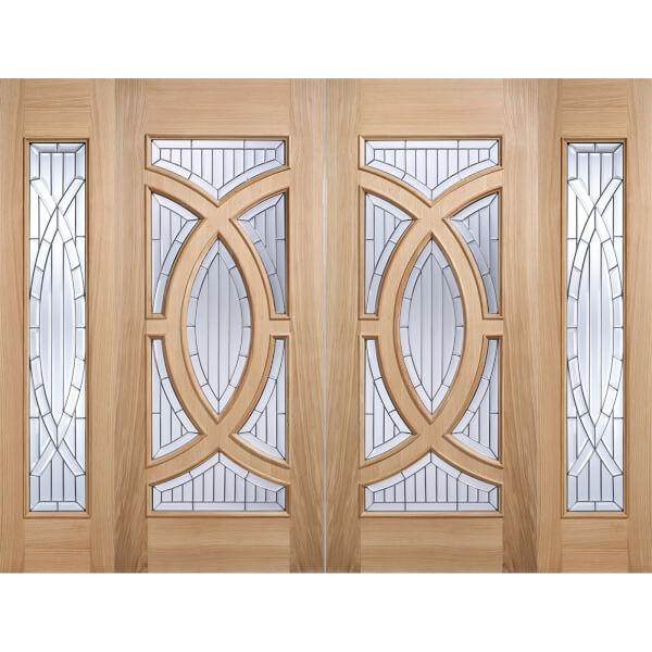 Majestic - Glazed Oak - Exterior Door - 1981 x 762 x 44