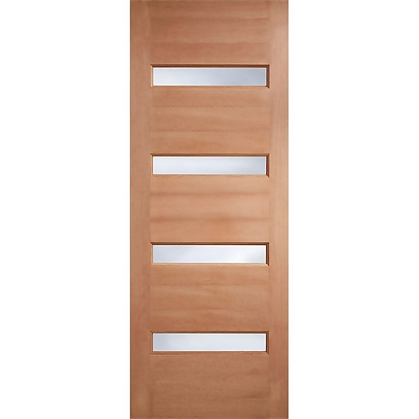 Balham - Hardwood Glazed Exterior Door - 1981 x 762 x 44