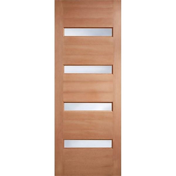 Balham - Hardwood Glazed Exterior Door - 2032 x 813 x 44