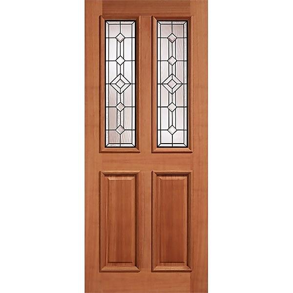 Derby - Hardwood Glazed Exterior Door - 1981 x 762 x 44