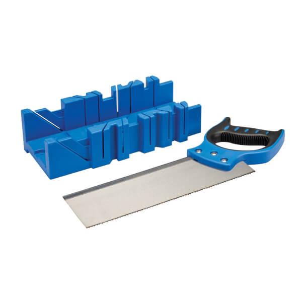Silverline Expert Mitre Box & Saw 300 x 90mm