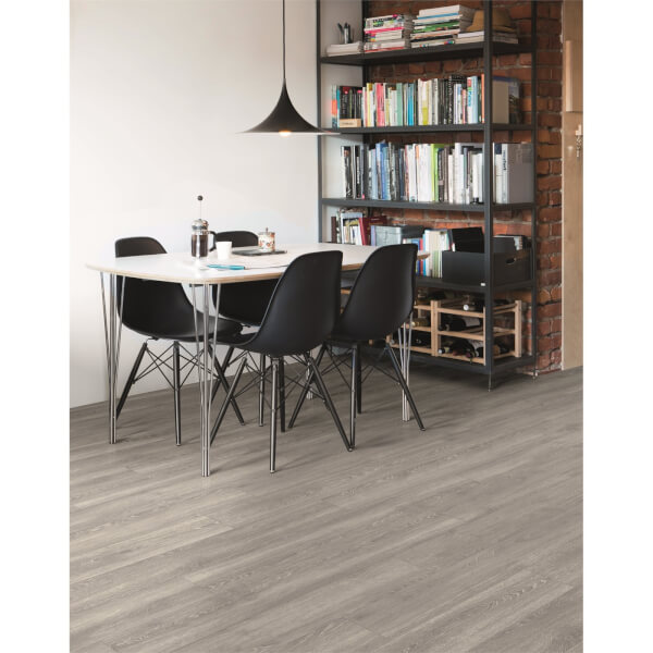 Embossed Luxury Vinyl Click Flooring -  Cleveland Oak