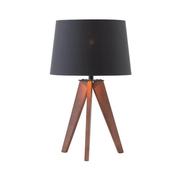Poppy Walnut Table Lamp