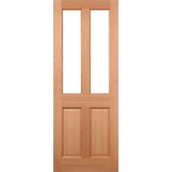Malton - Hardwood Exterior Door - Glazed - 1981 x 838 x 44