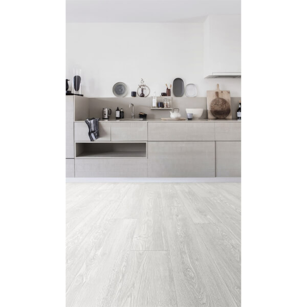 Embossed Luxury Vinyl Click Flooring -  Portland Oak