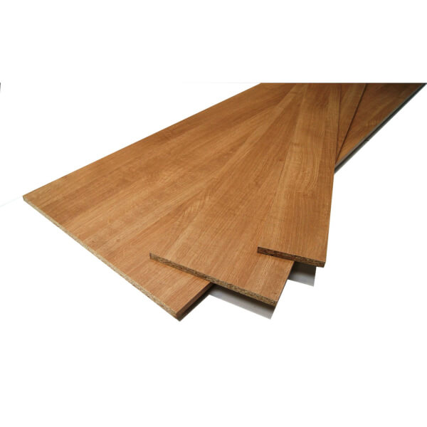 Trojan Oak Effect Furniture Board - 15 x 450 x 2440mm