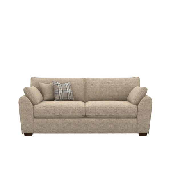 Idaho 3 Seater Sofa - Mocha