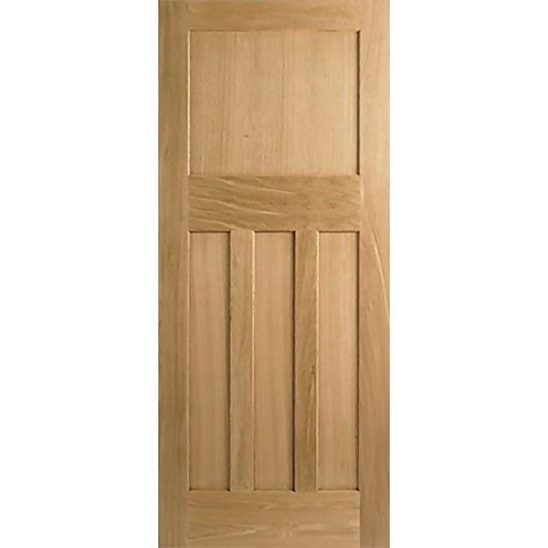 30's Style - Oak Internal Fire Door - 1981 x 838 x 44mm