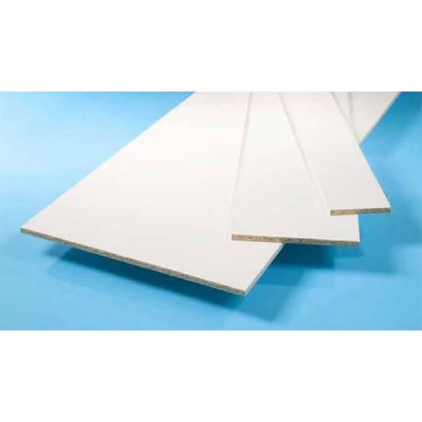 White Furniture Board - 15 x 305 x 2440mm