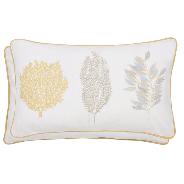 Sanderson Home Sea Kelp Cushions 50x30cm - Grey
