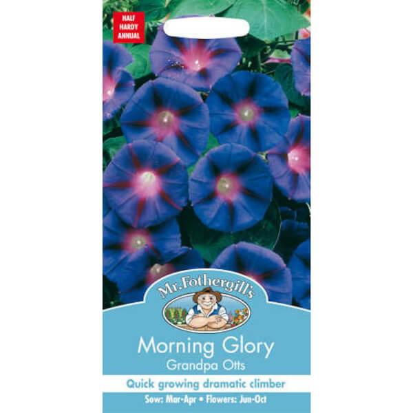 Mr. Fothergill's Morning Glory Grandpa Otts (Ipomoea Purpurea) Seeds