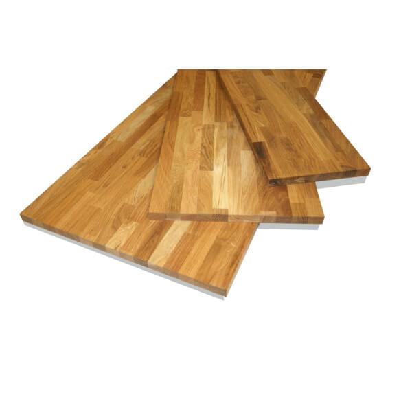 Solid Oak Board - 18 x 400 x 850mm