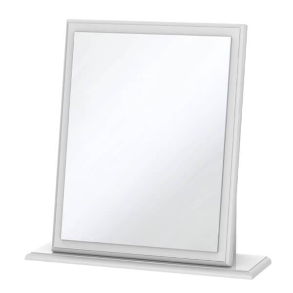 Stonehaven Small Mirror - White