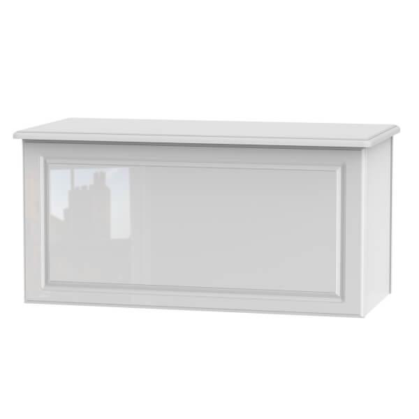 Stonehaven Blanket Box - White