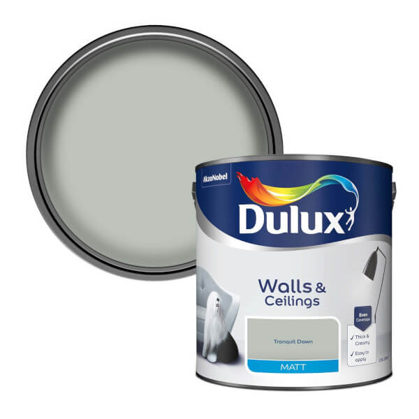 Dulux Tranquil Dawn - Matt Emulsion Paint - 2.5L