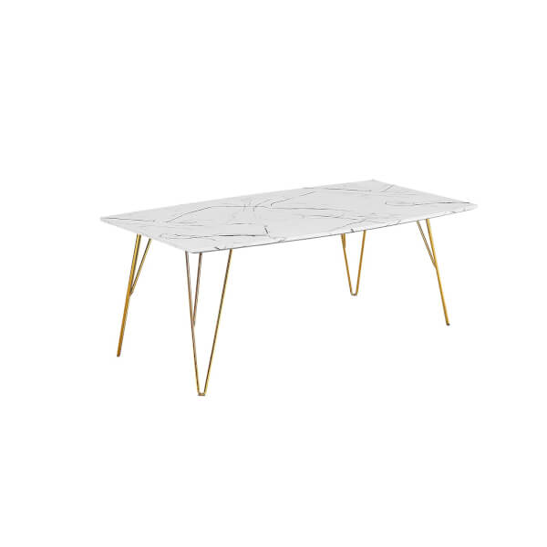 Fusion Coffee Table - White Marble