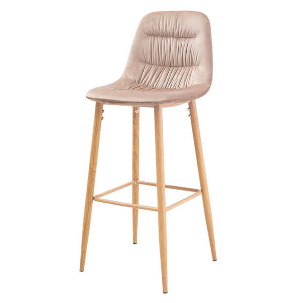 Harper Bar Stool - Beige - Pack of 2