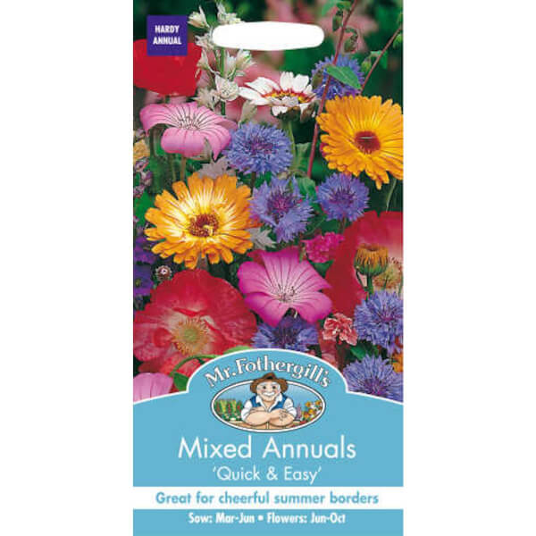 Mr. Fothergill's Mixed Annuals Seeds