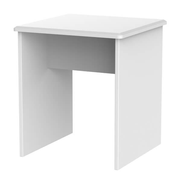 Portofino Lamp Table - White